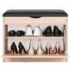 Duży wieszak z panelami W5P + szafka na buty SBH1