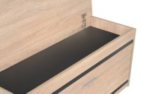Duży wieszak z panelami W5P + szafka na buty SBP3G Grafit