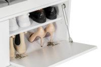 Duży wieszak z panelami W5P + szafka na buty SBC1