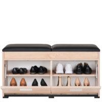 Duży wieszak z panelami W5P + szafka na buty SBC2