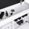 Duży wieszak z panelami W5P + szafka na buty ODIS SBD2