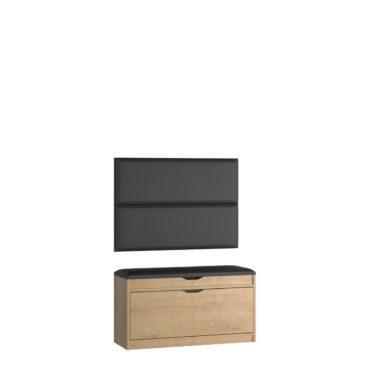 Zestaw szafka na buty SBH1 z panelami P02